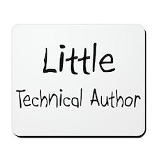 Little Technical Author Mousepad