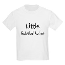 Little Technical Author Kids Light T-Shirt