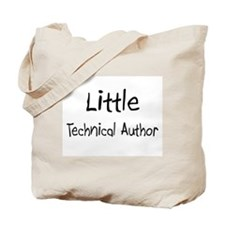 Little Technical Author Tote Bag