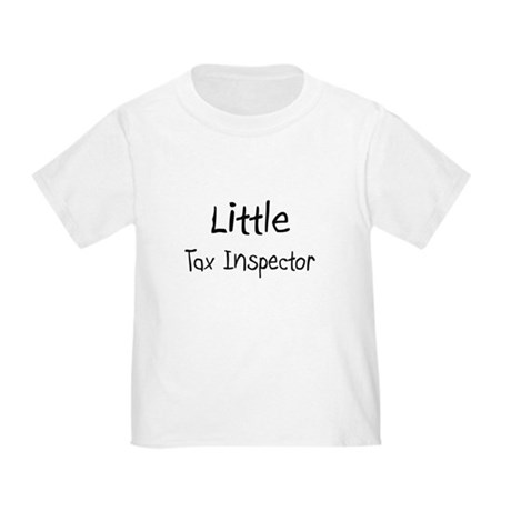 Little Tax Inspector Toddler T-Shirt