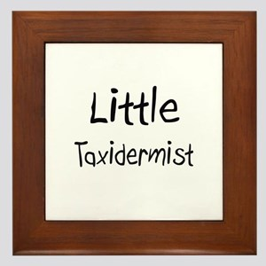 Little Taxidermist Framed Tile
