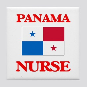Panama Nurse Tile Coaster