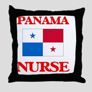 Panama Nurse Throw Pillow
