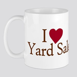 I Love Yard Sales Mug