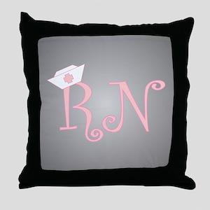 RN Throw Pillow