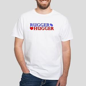 Rugger Hugger White T-Shirt