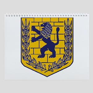 Lion of Judah Gold Wall Calendar