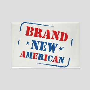 Brand New American Rectangle Magnet