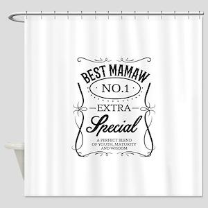 BEST MAMAW Shower Curtain
