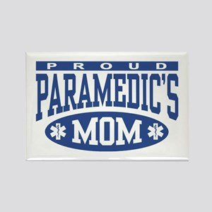 Proud Paramedic's Mom Rectangle Magnet