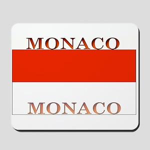 Monaco Monegasque Flag Mousepad