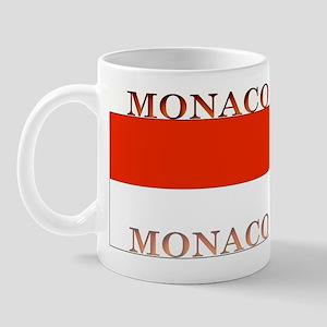Monaco Monegasque Flag Mug