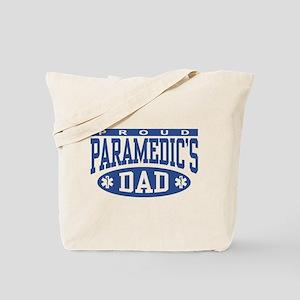 Proud Paramedic's Dad Tote Bag