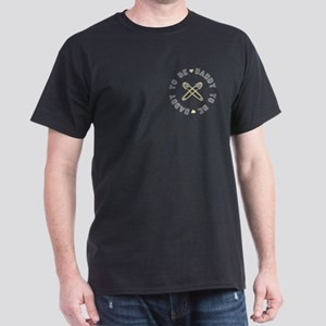 Daddy to Be Non Gender Yellow Dark T-Shirt