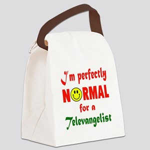 I'm perfectly normal for a Televa Canvas Lunch Bag