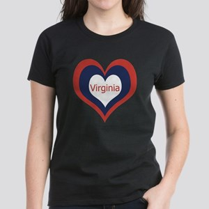 Virginia - Women's Dark T-Shirt