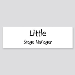 Little Stage Manager Bumper Sticker