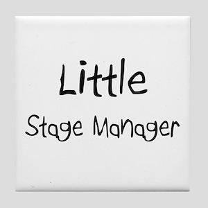 Little Stage Manager Tile Coaster