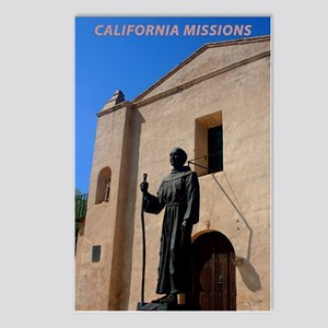 California Missions Postcards (Package of 8)