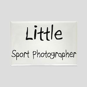 Little Sport Photographer Rectangle Magnet