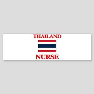 Thailand Nurse Bumper Sticker