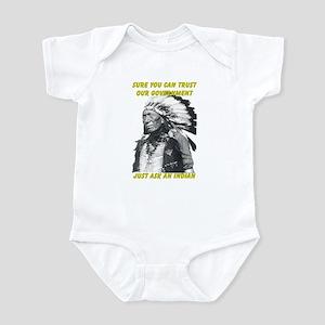 Trust government Infant Bodysuit