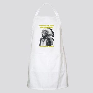 Trust government BBQ Apron