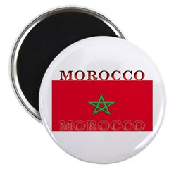 Morocco Moroccan Flag Magnet