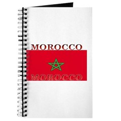 Morocco Moroccan Flag Journal