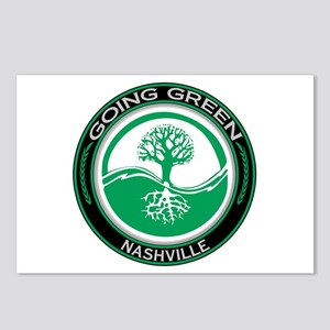 Going Green Nashville Tree Postcards (Package of 8