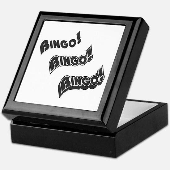 Bingo-Bingo-Bingo Keepsake Box