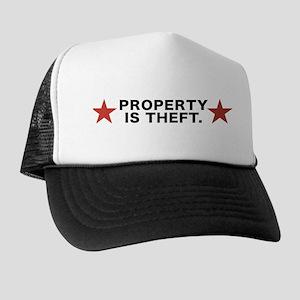 Property is Theft Trucker Hat