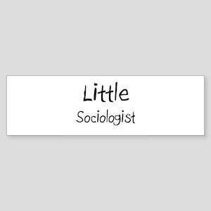 Little Sociologist Bumper Sticker