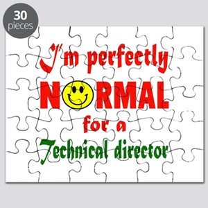 I'm perfectly normal for a Technical Direct Puzzle