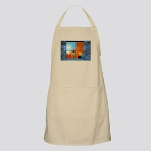 Abstract in a Window BBQ Apron