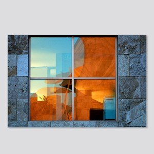 Abstract in a Window Postcards (Package of 8)