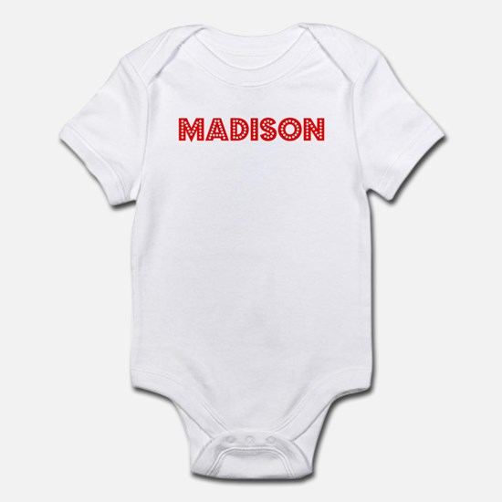 Retro Madison (Red) Infant Bodysuit