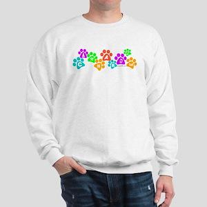 Colorful paws Canhardly Sweatshirt