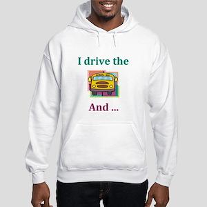 School Bus Driver Hooded Sweatshirt