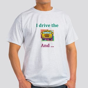 School Bus Driver Light T-Shirt