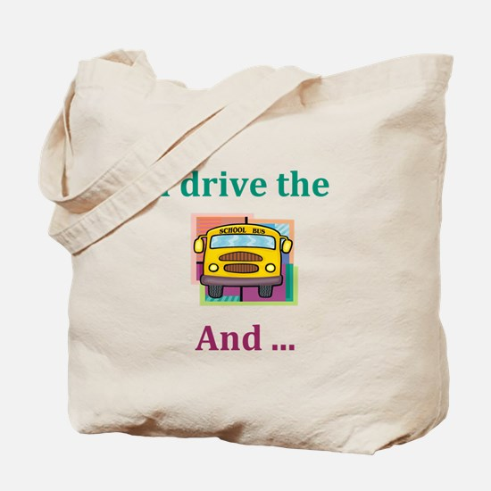 School Bus Driver Tote Bag