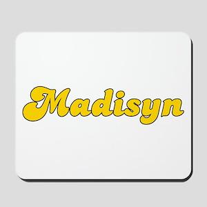Retro Madisyn (Gold) Mousepad