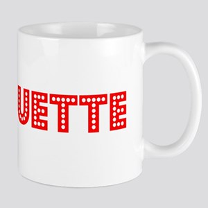 Retro Marquette (Red) Mug