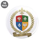"""VIENNEAU Family Crest 3.5"""" Button (10 pack)"""