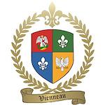 VIENNEAU Family Crest Fulfillment