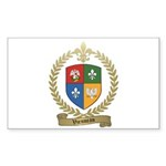 VIENNEAU Family Crest Rectangle Sticker 10 pk)
