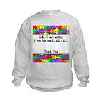 Please Call Kids Sweatshirt