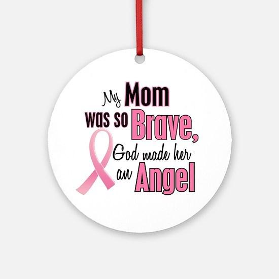 Angel 1 (Mom BC) Ornament (Round)