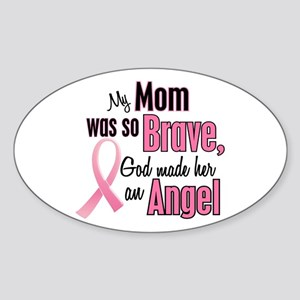 Angel 1 (Mom BC) Oval Sticker