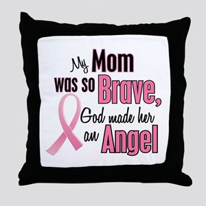 Angel 1 (Mom BC) Throw Pillow